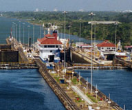 Passage through the Panama Canal and Costa Rica